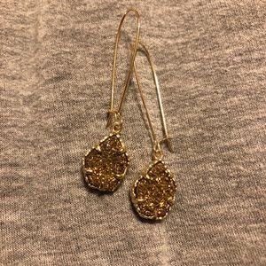 Kendra Scott drop drusy earring